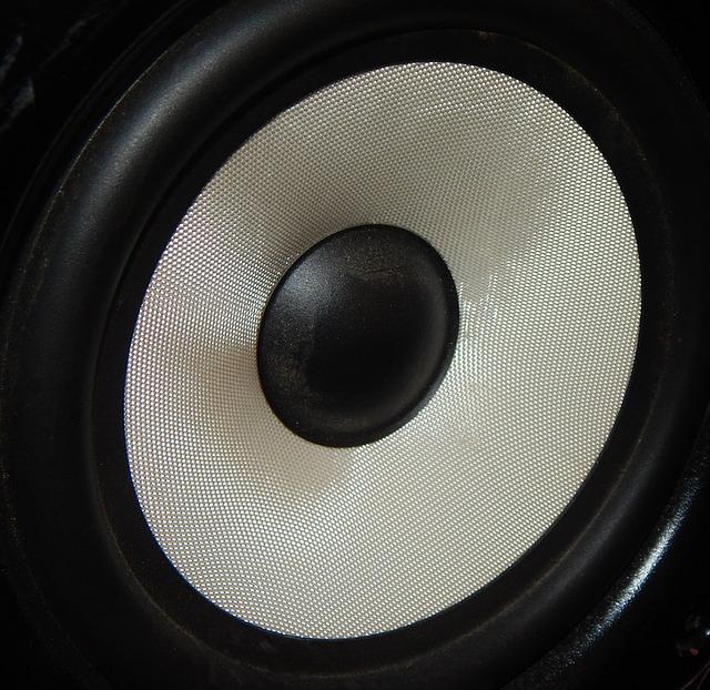 czarny głośnik