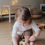 Drewniane klocki edukacyjna rozrywka dla dzieci